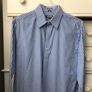 Kenneth Cole Men's Buttoned Down Dress Shirt